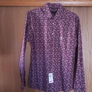 Tommy Hilfiger Slim Fit Floral Shirt. Brand New